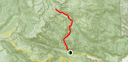 The Saddle Trail Map