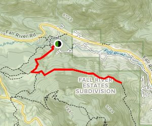 North Deer Mountain Trail Map