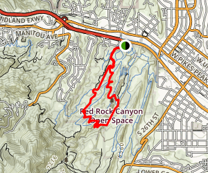 Hogback Ridge Summit Trail Map