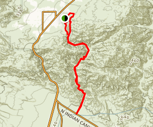 Big Morongo Canyon Trail Map