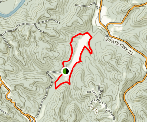 Leatherwood Loop Trail Map
