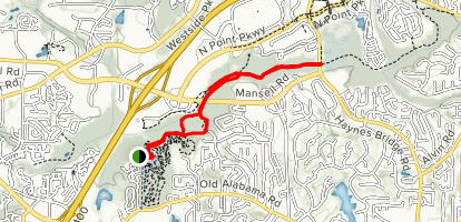 Roswell Ramble Trail Map
