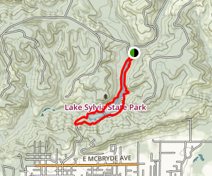 Lake Sylvia Trail Map