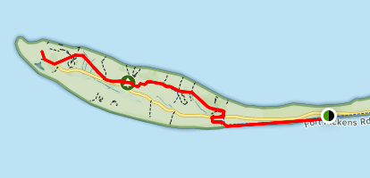 Fort Pickens Trail Map