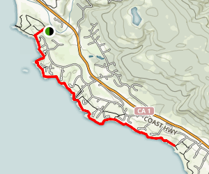 Coastal Bluff Trail Map