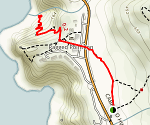 Ragged Point Trail Map