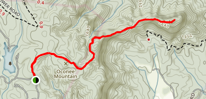 Tamassee Knob Trail Map