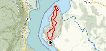 Mount Independence Trail Map