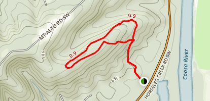Marshall Forest Hiking Trail Map