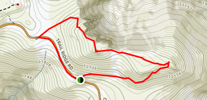 Sundance Mountain Trail Map