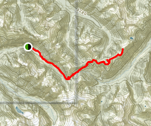 Copper Ridge Trail Map