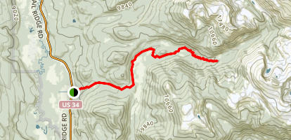 Onahu Trail to Granite Falls Map