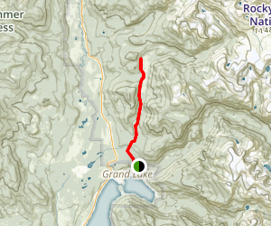 Tonahutu Creek Trail to Big Meadows Map