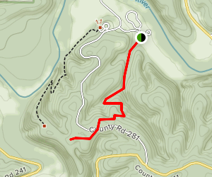 Spring Hollow & River Trail Map