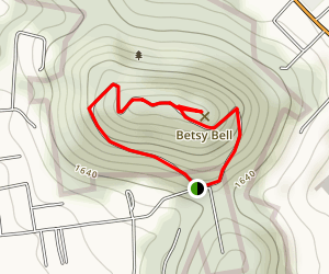 Betsy Bell Trail Map