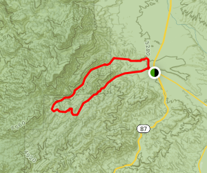 Deer Creek Loop Trail Map