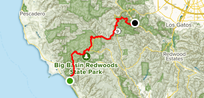 Inland-from-the-Sea Trail Map