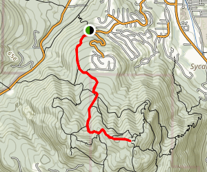 Squak Mountain Fireplace Trail Map