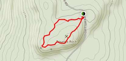 Rounds Rock Trail Map