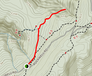 March Cataract Falls Trail Map
