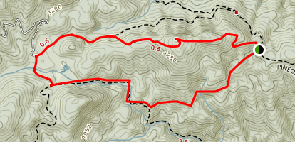 Lost Cove Area Trails Map