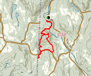 Herrick Trail Preserve via Appalachian Trail Loop Map