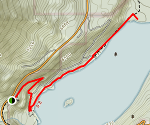 Emerald Point Trail Map