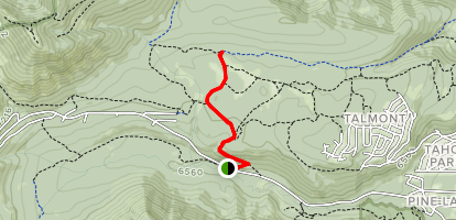 Page Meadows to TRT Map