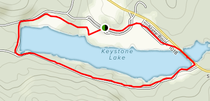Keystone State Park Campground Map