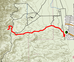 El Paso Tin Mines Trail Map