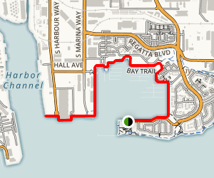 Richmond Bay Trail Map