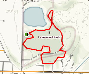 Lakewood Trail Map