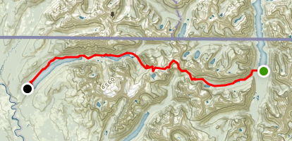 Boulder Pass Trail Map