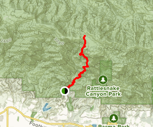 Tunnel Trail Map