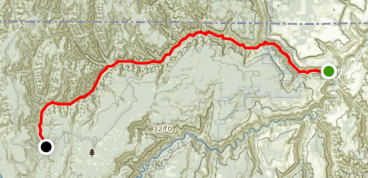 Wenaha River Trail Map