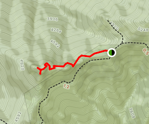Illahee Lookout Trail Map