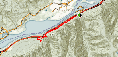 Columbia River Gorge Trail Map