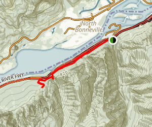 Columbia River Gorge Trail (CLOSED) Map