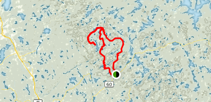Western Uplands Trail  Map