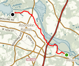 Roanoke Canal Trail Map