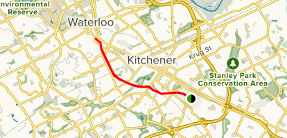 Map Of Canada Kitchener.Iron Horse Trail Ontario Canada Alltrails