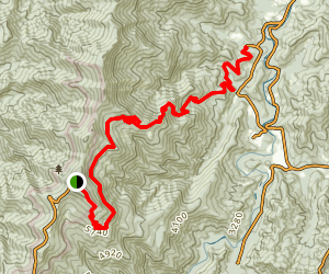 Buncombe Horse Trail Map