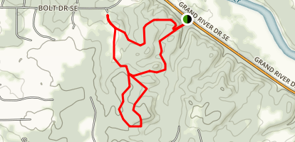 Cascade Peace Park Trail Map