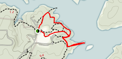 Blue Jay Point Nature Walk Map