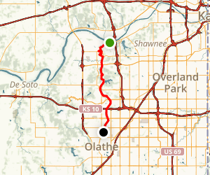 Gary L. Haller National Recreation Trail Map