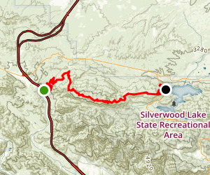 Cleghorn Ridge Trail Map