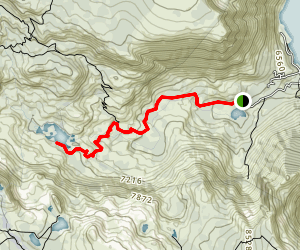Glen Alpine Trail Map