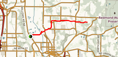 PSE Powerline Trail Map