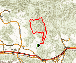 Palo Comado Connector Trail Map