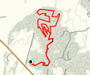 Rudy Mines Trail Map